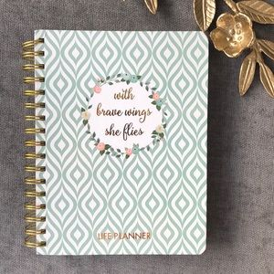 life planner agenda all year every year prayer